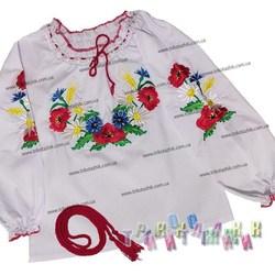 Вышиванка для девочки, модель 555