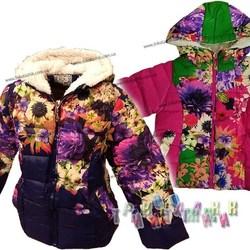Куртка для девочки, модель F-14. Сезон Весна-Осень.