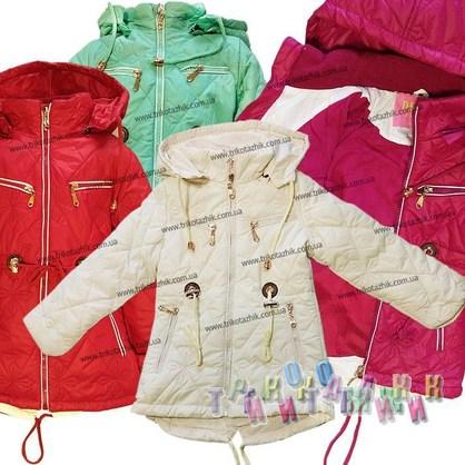 Куртка для девочки, модель 8915. Сезон Весна-Осень.