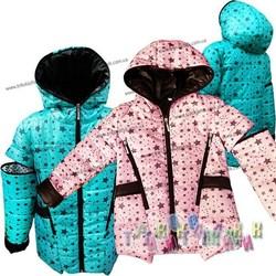 Куртка-жилетка для девочки, со звёздами. Сезон Весна-Осень