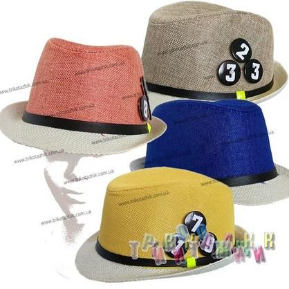 Шляпа с цифрами