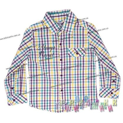Рубашка для мальчика м. 1-508
