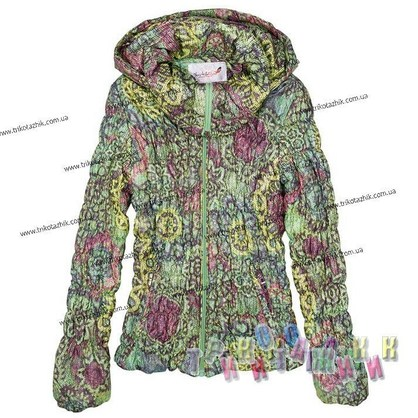 Куртка для девочки м. 212009. Сезон весна-осень