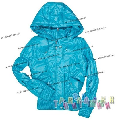 Куртка для девочки м. 212096. Сезон весна-осень