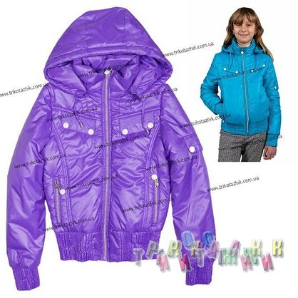 Куртка для девочки м. 23089. Сезон весна-осень
