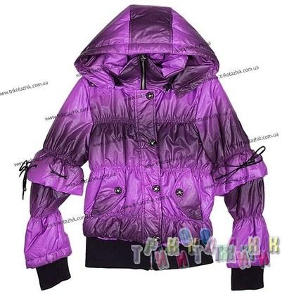 Куртка для девочки м. L1211. Сезон весна-осень
