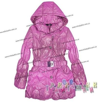 Пальто для девочки м. C-101B. Сезон Весна-Осень.