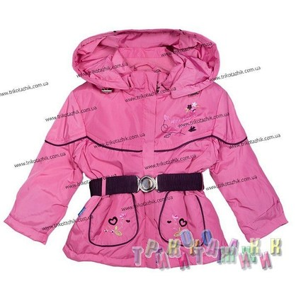 Куртка для девочки м. Т-3. Сезон весна-осень