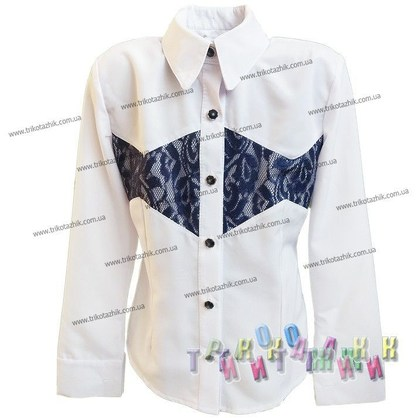 Блуза для девочки м. 506