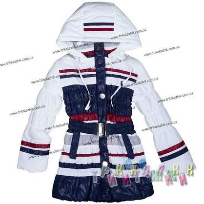 Пальто для девочки м. Е-211. Сезон Весна-Осень.