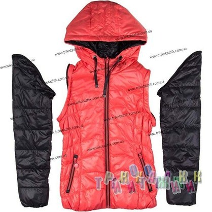 Куртка для девочки м. 24311. Сезон весна-осень