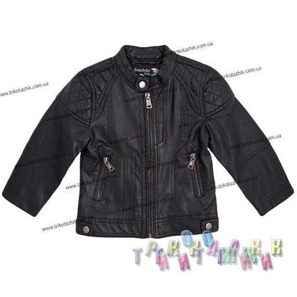 Кожанная куртка для мальчика м. 777. Сезон Весна-Осень.