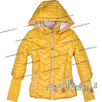 Куртка для девочки м. 26012. Сезон весна-осень