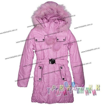 Пальто для девочки м. 212171. Сезон Зима.