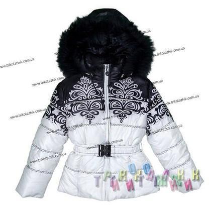 Куртка для девочки м.1732. Сезон Зима.
