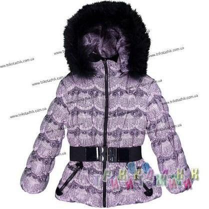 Куртка для девочки м. 1735. Сезон Зима.