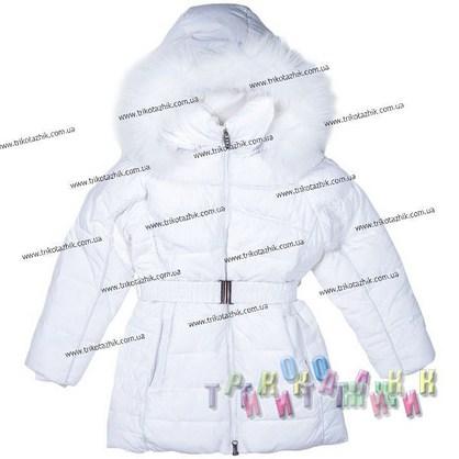 Пальто для девочки м. 306-316. Сезон Зима.