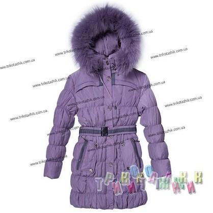 Пальто для девочки м. 0036. Сезон Зима.