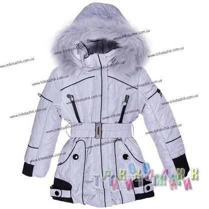 Пальто для девочки м. 306-275. Сезон Зима.