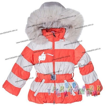 Куртка для девочки м. Е-227. Сезон Зима.