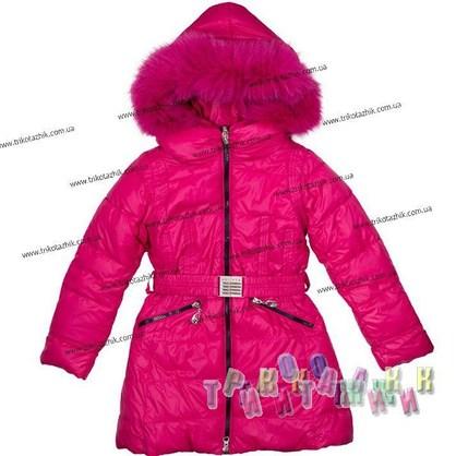 Пальто для девочки м.306-526. Сезон Зима.