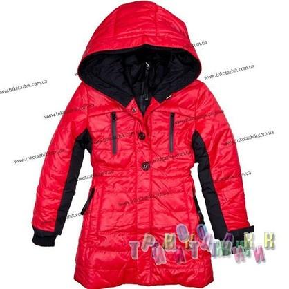 Пальто для девочки м. Е-229. Сезон Зима.