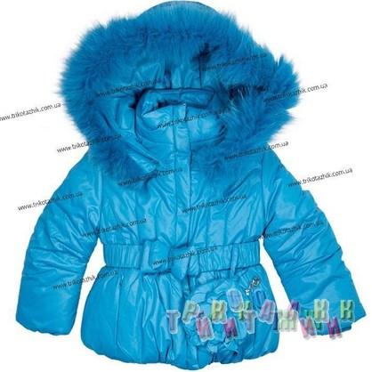 Пальто для девочки м. 1702. Сезон Зима.