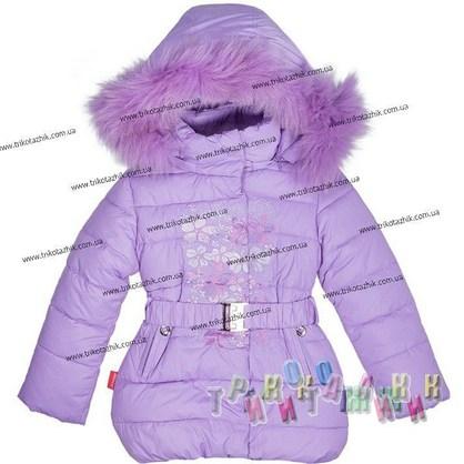Пальто для девочки м. 1705. Сезон Зима.