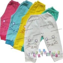 Штаны с вышивкой начесная махра