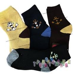 Носочки махровые для мальчиков Якорь (3-7 лет)