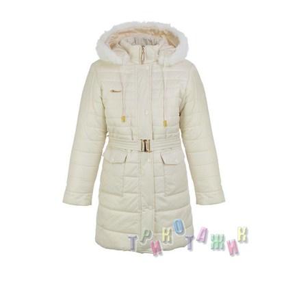 Пальто зимнее для девочки Гламур