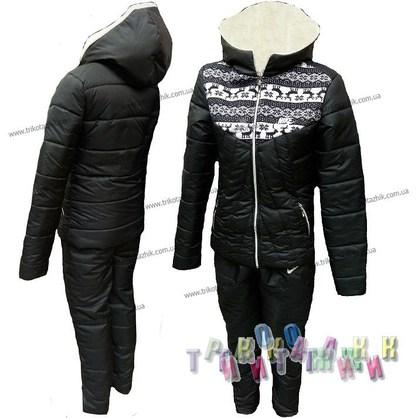 Спортивный утеплённый женский костюм м. 2365