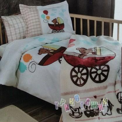 Комплект детского постельного белья Bear&Rabbit