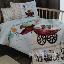 Комплект детского постельного белья Baby Car с одеялом