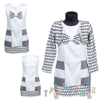 Нарядное платье для девочки м. 503
