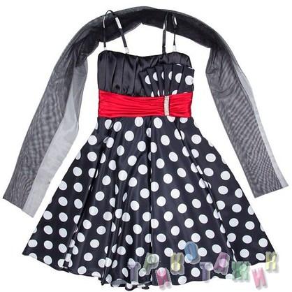 Нарядное платье для девочки м. 1355