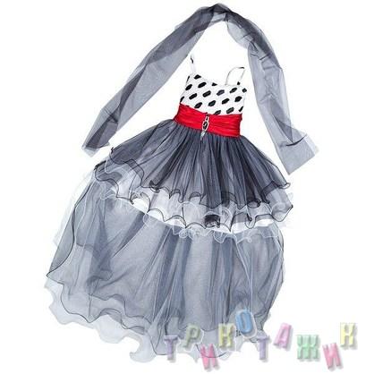 Нарядное платье для девочки м. 3015