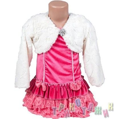 Нарядное платье для девочки м. 2647