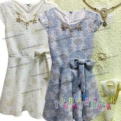 Нарядное платье для девочки Бант