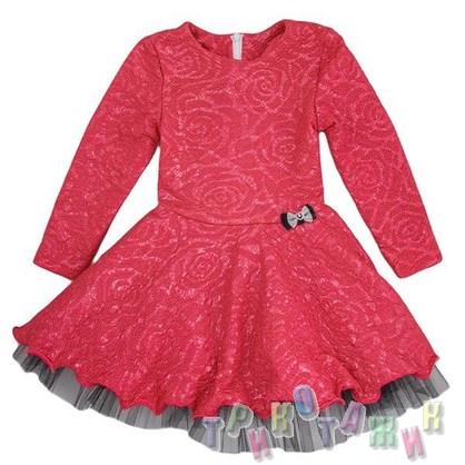 Нарядное платье для девочки м. 1012