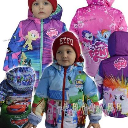 Куртка детская, Мультяшка. Сезон Весна-Осень