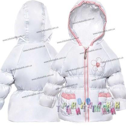 Куртка для девочки Цветок. Сезон весна-осень (Украина)