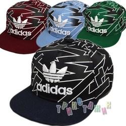 Реперка с прямым козырьком Adidas 2024