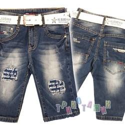 Бриджи джинсовые для мальчика, 2018