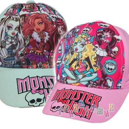 Кепка для девочки Monster High