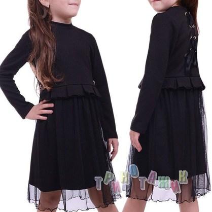 Платье школьное Мята