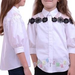 Блуза школьная Кокетка