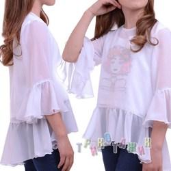 Блуза школьная Лаванда