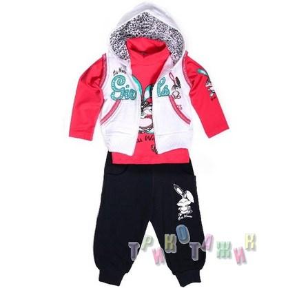Спортивный костюм для девочки Wanex м.4066