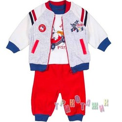 Велюровый спортивный костюм для мальчика м.2491